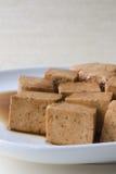 Tofu mariné Photographie stock libre de droits