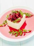 Tofu with marinated veggies Stock Photos