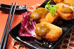Tofu nugget Stock Photography