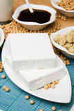 Tofu and other soy products. Used in asian cuisine Stock Photo