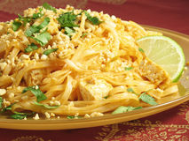 Tofu Pad Thai Stock Photos