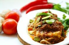 tofu petai chili Стоковое Изображение RF