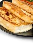 Tofu on plate Royalty Free Stock Image