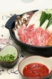 tofu préparé délicieux de sushi de roulis d'oeufs de poisson image stock