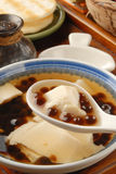 Tofu pudding with tapioca ball Stock Photography