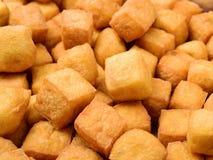 Tofu Puff  feature. Background isolation Stock Photo
