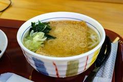 Tofu ramen udon Stock Photography