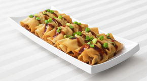 Tofu Rolls Royalty Free Stock Images