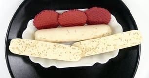 Tofu rolls Stock Image