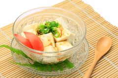 Tofu salad Stock Images
