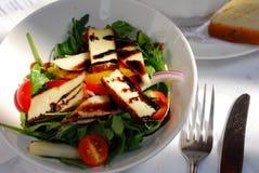 Tofu salad. Italian tofu salad with sauce Royalty Free Stock Photo