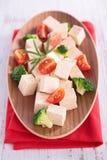 Tofu salad Stock Photos