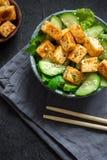 Tofu Salad Royalty Free Stock Image