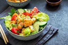 Tofu Salad Stock Photography