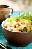 Tofu salad  [ Healthy food ] Stock Photo