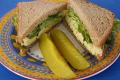 Tofu Salad Sandwich Royalty Free Stock Photos