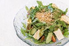 Tofu salade royalty-vrije stock foto