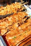 Tofu Skewers Royalty Free Stock Photo