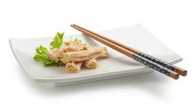 Tofu skin Royalty Free Stock Images