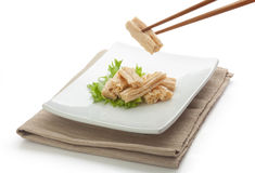 Tofu skin Royalty Free Stock Image
