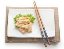 Tofu skin Stock Photography