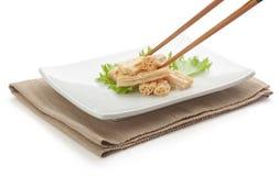 Tofu skin Stock Images