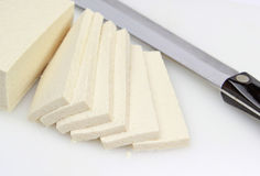 Tofu Slices Royalty Free Stock Photo