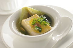 Tofu Soup Royalty Free Stock Photo