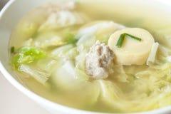Tofu soup Royalty Free Stock Photo