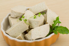 Tofu - soya cheese Stock Photos