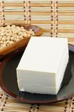Tofu and soybean Royalty Free Stock Photo