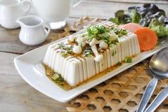 Tofu Steak, fusion food Royalty Free Stock Photo