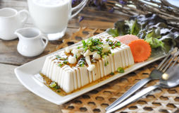Tofu Steak, fusion food Stock Photos
