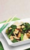 Tofu stir fry Royalty Free Stock Images