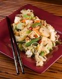 Tofu Stirfischrogen Lizenzfreie Stockbilder