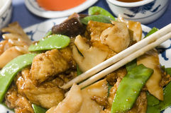 Tofu tahoe bij Chinees restaurant Royalty-vrije Stock Fotografie