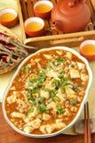 Tofu van Mapo Stock Fotografie