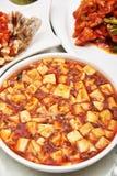 Tofu van Mapo stock foto's