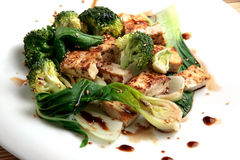 Tofu and vegetables Royalty Free Stock Photo