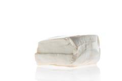 Tofu on white background , bean curd , soybean cake, Royalty Free Stock Photos