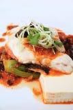 Tofu in XO sauce Stock Images