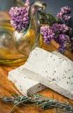 Tofu z pikantność i oliwa z oliwek Obraz Royalty Free