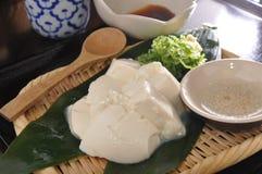 Tofuefterrätt Royaltyfri Foto