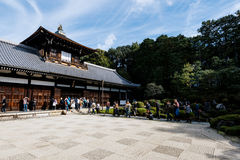 Tofuku籍寺庙,京都 库存照片
