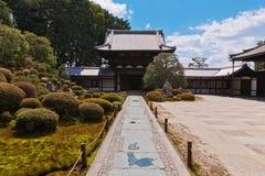 Tofuku-ji. Zen Garden design on the Tofuku-ji temple in Kyoto, Japan Stock Images