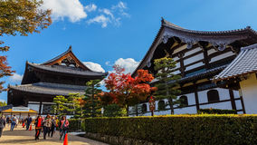Tofuku-ji Temple in Kyoto Royalty Free Stock Photo