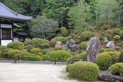 Tofukuji寺庙禅宗庭院  免版税库存图片