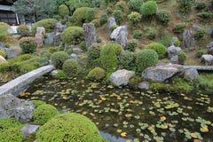 Tofukuji寺庙禅宗庭院  库存图片