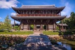Tofukuji tempel i Kyoto Royaltyfria Bilder