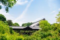 Tofukuji temple in Kyoto city Japan royalty free stock photo